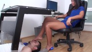 Foot hot redhead - Girl foot torture for slaves