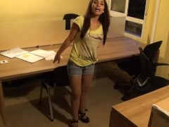 Adira Sets A Covert Camera To Film Herself Fuckin' A Coworker!!