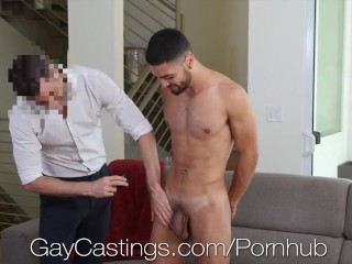 GayCastings Casting Agent Pounds Latino Hunk