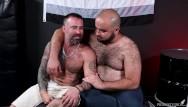 Bearback gays - Bearback - the rhino rides italian studs raw cock