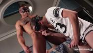 Australia gay gras mardi mask Maskurbate - masked muscle hunk devon dexx worshipped by uncut jock