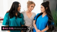 Hi res boobs - Lena pauls inspection turns into threesome during new hire training