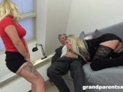 Old Couple Fucking Young Stripper