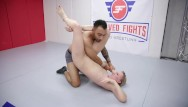 Fight club nude scenes - Riley reyes nude wrestling fight banged in the ring by oliver davis