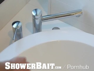 ShowerBait Latino Shower Sex Compilation