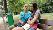 Small cute girl getting fucked well Hunt4k. brunette cute girl gets fucked in the public park