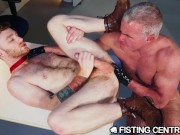 FistingCentral - Mature Boss Catches Employee Jerking On The Job