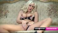 Milf fingering galleries - Babestation hot blonde milf karlie simon finger fucks herself