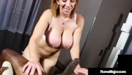 Spunk jay simon - Busty milf milking sara jay sucks the cum out of big black cock rome major