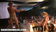 Ar stripper Dancingbear - fun birthday party orgy with big dick slingin male strippers