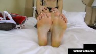 Foot fetish milwaukee - Sweet petite bailey paige takes off crazy converse foot fucks a hard cock