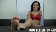 Foot fucking video - Pov feet fetish and femdom foot massage videos