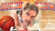 Free cheerleaders porn Vrconk pov blowjob by blonde skinny cheerleader vr porn