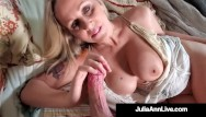 Koren pussy - Busty beautiful world famous milf julia ann gets pussy mega dick drilled