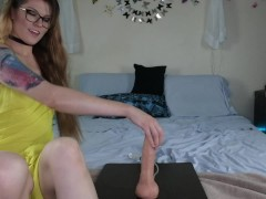 Dtf?? Finishes With Creampie!! *bust It Dildo!*
