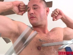 Hairy Successful Man Danny Mountain Gets Tongued With The Concentrate On Him!!!