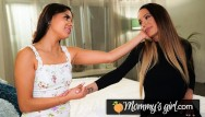 Lesbian grapple - Squirt madness with katya rodriguez and her stepmom - mommysgirl