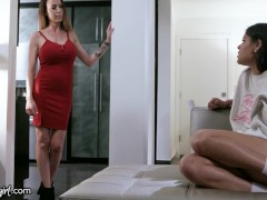 Squirt Madness With Katya Rodriguez And Her Stepmom - Mommysgirl