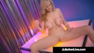 Stripper preview Hot stripper mom busty milf julia ann finger fucks after stripping
