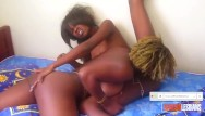 Women masturbation amateur Hot passion between 2 black women