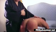 Impish mature - The slut wife buggers her husband with a strapon