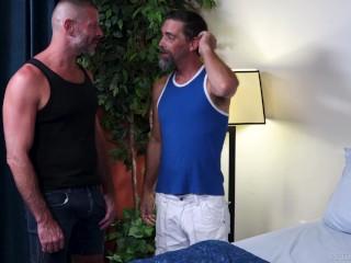 ExtraBigDicks – Older Silver Daddies Break In A New Bed