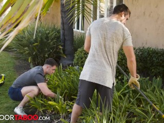 NextDoorTaboo – Step Brothers Get Distracted When Doing Their Chores