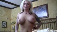 Mature dominant women videos - Cum eating fetish and female domination videos