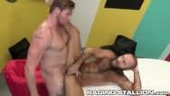Gay sex related flash games Ragingstallion - ryan stone tops bear in the game room