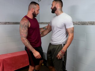 MenOver30 – Hairy Hunks Post-Workout Shower