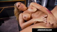 Redtube groping busty blonde - Tune into masturbation station with hot busty milf julia ann her pussy