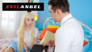 Blond shemale fucking - Evilangel - kenzie reeves seduces mormon boy
