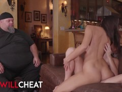 She Will Cheat – Kenna James Cucks her fat husband with lesbian Kendra