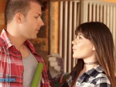 Reality Junkies - Sexy Cowgirl Alison Rey Rides A Cock Wildly