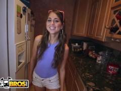Bangbros - Petite Puerto Rican Hottie Riley Reid Taking Big Black Cock