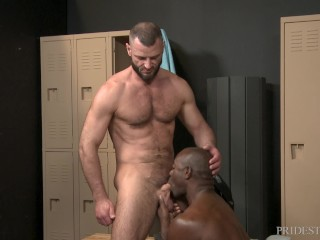ExtraBigDicks – Jake Morgan Caught Staring In The Locker Room