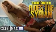 Max adult 12449 Hot blonde milf barbi sinclair slams a sybian