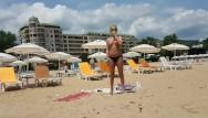 Drunk in public nude girls Hot girl public beach masturbate-a stranger gives him first anal