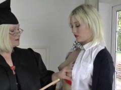Laceystarr - Slutty Student Screwed By Granny