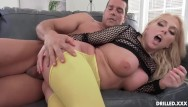 Blondes ass - Voluptuous big tits milf takes a big cock in her ass after titty fucking