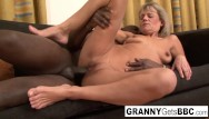 Fucking interracial mature Granny wants her pussy stuffed with bbc