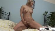 Man 4 sex Blonde cougar fucks a younger man