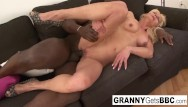 Free mature interracial thumbs Granny gets her pussy pounded by bbc