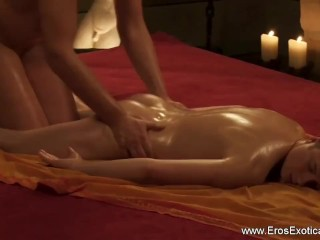 Relaxing Erotic Massage Session