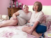 OldNannY BUsty British Mature Lesbians