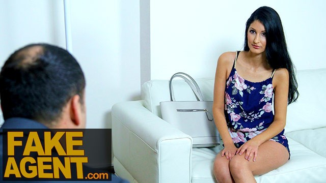 Fake Agent Stunning Busty Babe Given Porn Interview Hard Sex Lesson