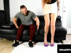Ass Fucked Fox Maria Marley Gets Butt Banged As Hard Prick Cuckold Watches!