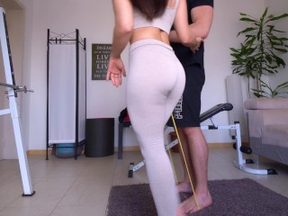 OMG he made me squirt on myself ! – best pussy training ever