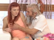 Daddy4k. Man Joins Horny Sexual Games Of His Naughty Girl And Old Dad