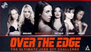 Free adult slender female videos Angela white hosts over the edge jerk off edging challenge - adult time